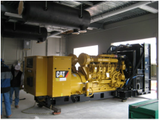 Cat Commercial Backup Generator